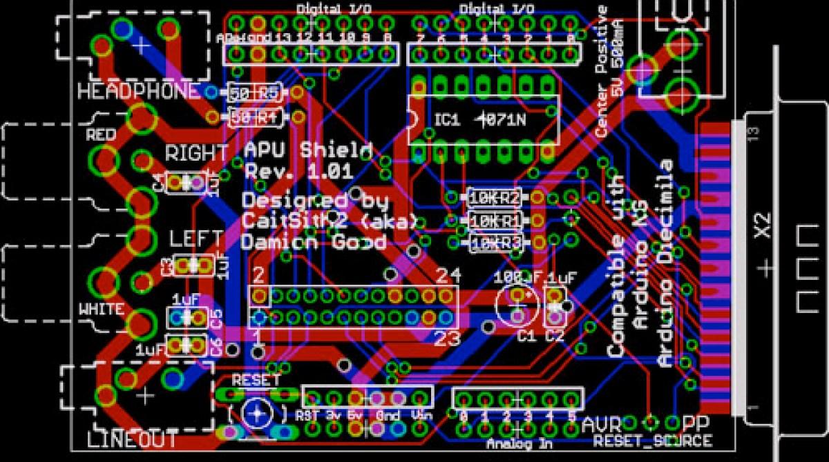 Arduino SNES audio shield | Make: