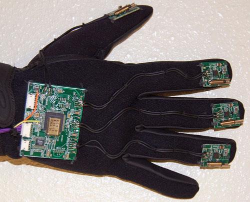 Braille glove