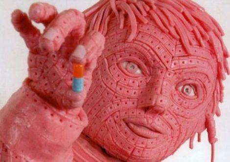 Gum Sculpture
