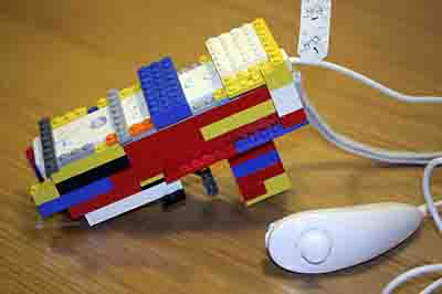 Dress up your Wii in Lego