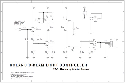 Synth schematic collection