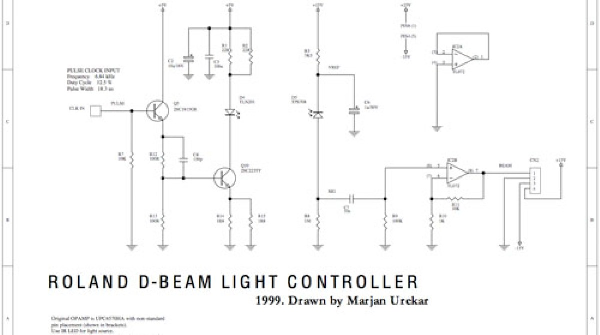 Synth schematic collection   Make: