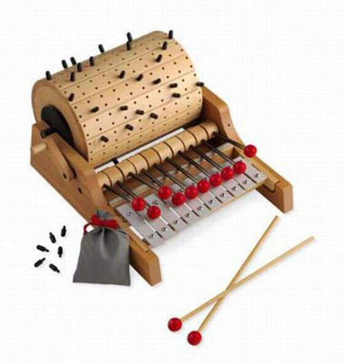 Gloggomobil : Programmable barrel-organ