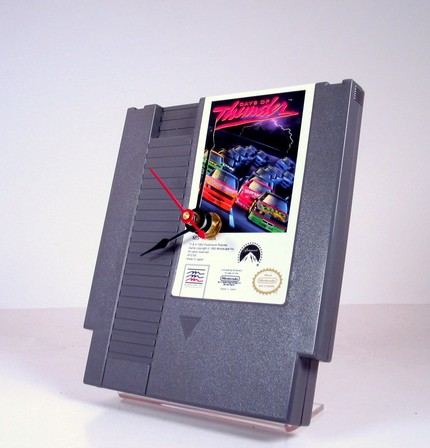 NES cartridge clock