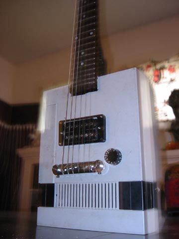 Game console guitars