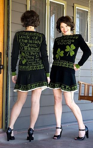 St. Patrick's Day Election Dress