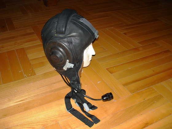 New audio for Soviet aviation helmet