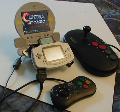 Turn a GameBoy Advance into a gaming console