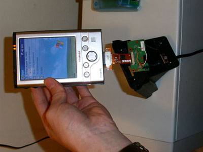 Do away with bulky PDA charging hardware
