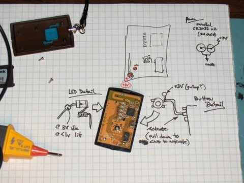 Make your own wireless network detector