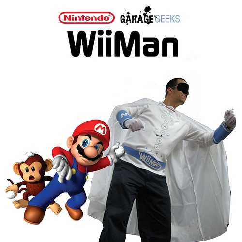 WiiMan Super Hero – A costume that -is- a Wii controller