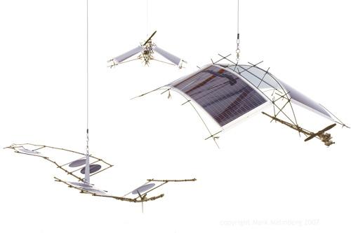 Solar Powered Robotic Mobiles