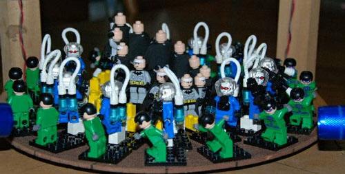 Lego 3D zoetrope @ Maker Faire