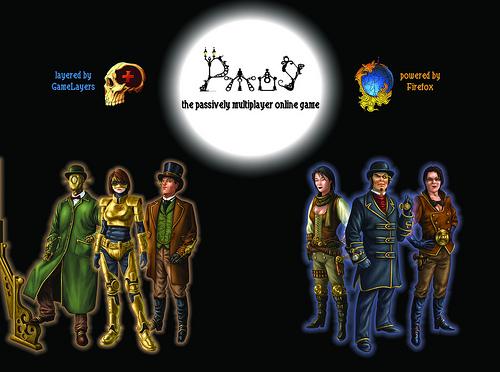 Passively Multiplayer Online Game @ Maker Faire