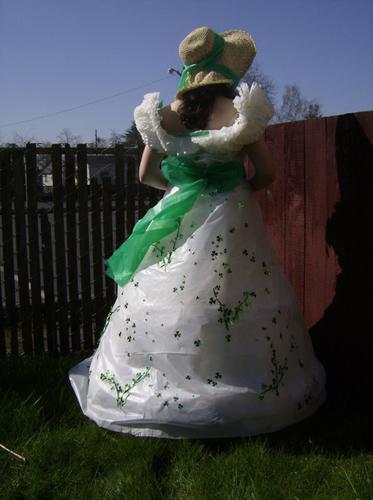 Dollar Store Scarlett O'Hara Dress