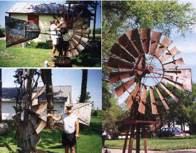 """Home built windmill will """"turn"""" you into eco friendly mode"""
