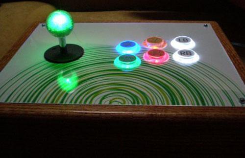 Homemade XBox 360 arcade controller