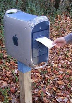 Apple G4 mailbox