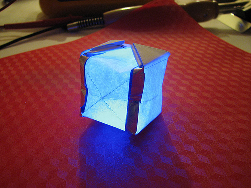 Paper Circuitry: Electric Origami