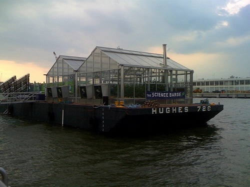 The Sciencebarge – NYC