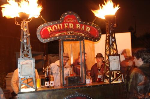 The Boiler Bar at Maker Faire