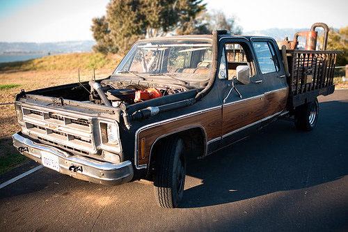 A truck that runs on coffee