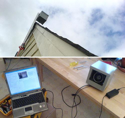 DIY timelapse photo setup