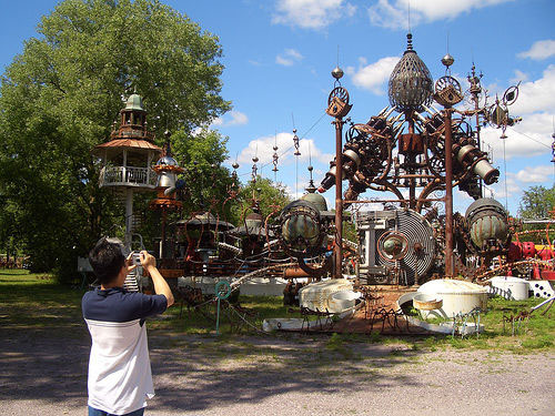 Forevertron: Sculpture by Dr. Evermor