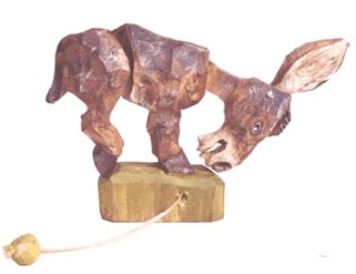 HOW TO – Make a kicking mule articulated wooden toy