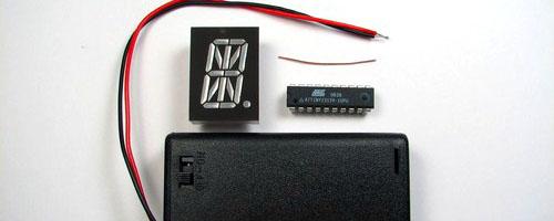 Simple USB 6-digit display kit