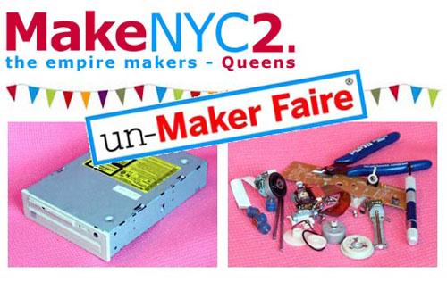 MakeNYC2 Meeting #2 – un-Maker Faire!