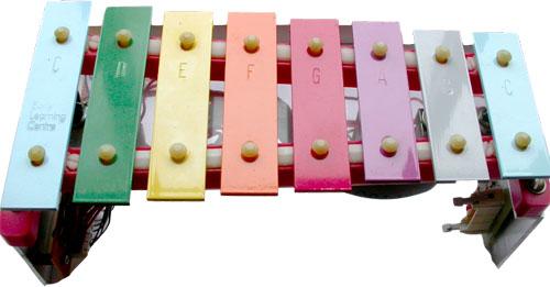 MIDI glockenspiel