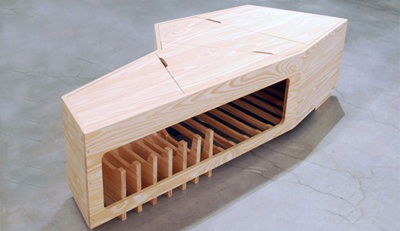Class has students build their own caskets