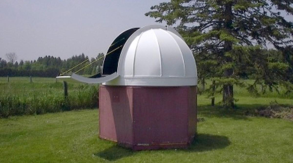 diy observatory dome make