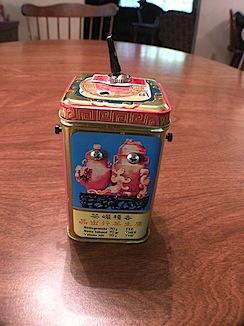 Noise Toy in a Tea Tin