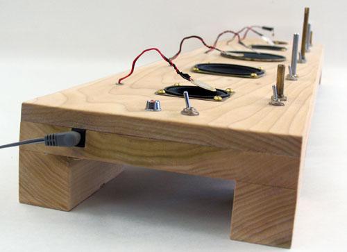 Speaker feedback instrument