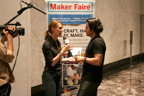 An evening at Maker Faire – NYC event