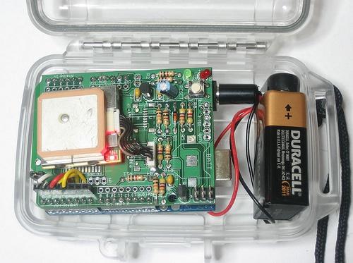 GPS logging Arduino shield