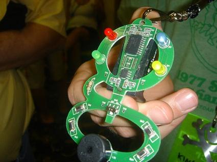 DEFCON Badge hacking
