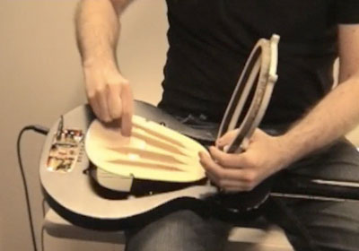 Guitar with a replaceable heart sounds sweet