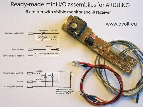 Basic I/O for Arduino