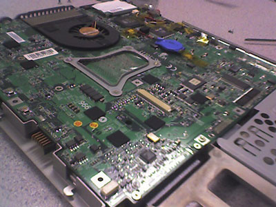 Dismantle and reassemble your laptop to see if you can do it