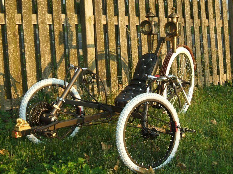 Brass Lion recumbent tricycle