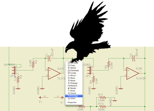 Eagle PCB software gets an overhaul