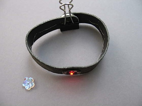 Quick and easy light-up bracelet