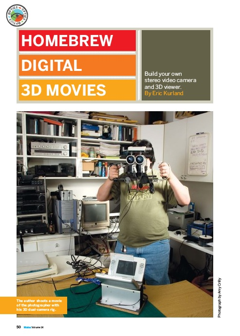 HOW TO – Make homebrew digital 3D movies