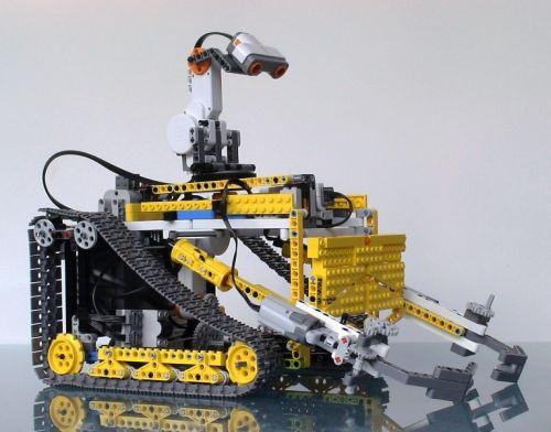 Make a LEGO Wall-E