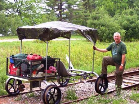 Rail Runner – make a cart that runs on train tracks