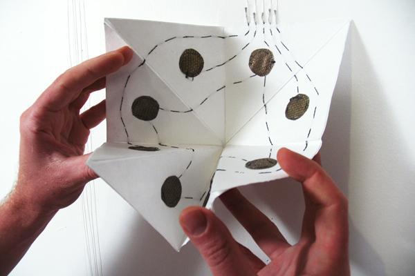 Musical origami