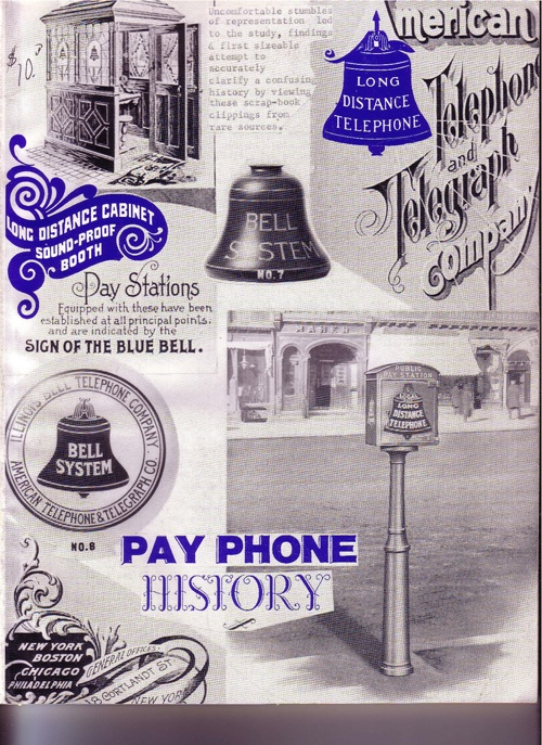 History of the payphone – mystery book